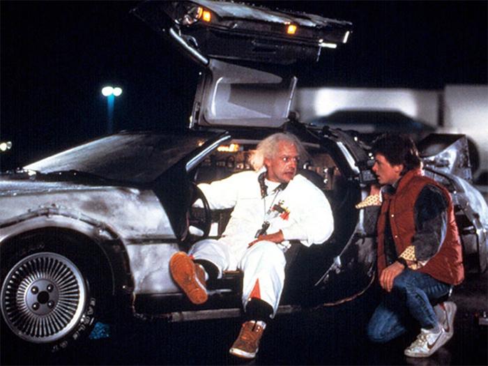 Eu só vou se for de DeLorean