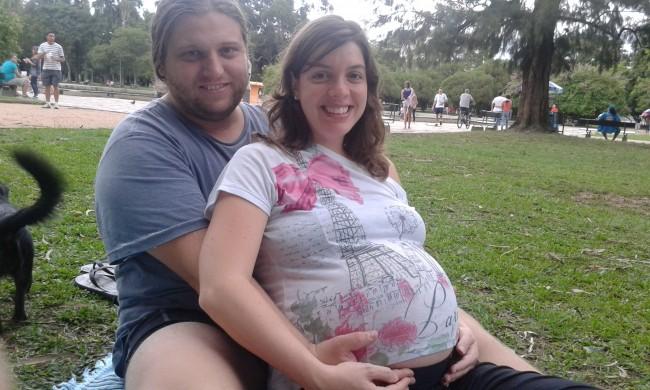 Última foto grávida - 39 semanas